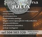 Logo - salaSala Weselna Julia w Tomaszow Mazowiecki, Konstytucji